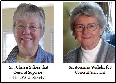 Srs. Claire & Joanna