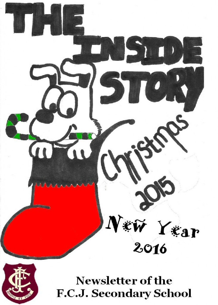 Cover of Christmas 2015 & New Year 2016 Newsletter